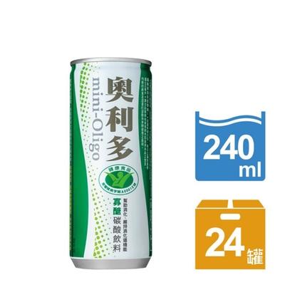 金車奧利多寡糖碳酸飲料(240mlx24罐)