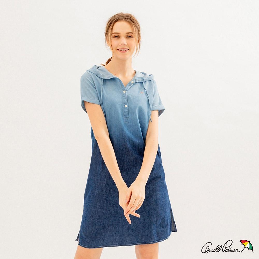 Arnold Palmer -女裝-漸層暈染洋裝-藍色