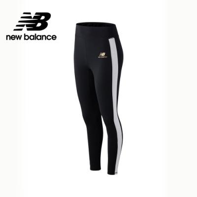 【New Balance】SPEED 側邊撞色緊身褲_女性_黑色_AWP03505BK