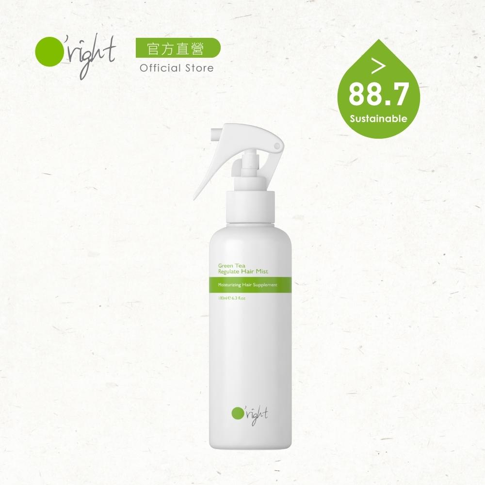 O'right 歐萊德 綠茶修護精華液180ml(染燙受損、乾燥髮質)