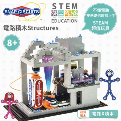 【Snap Circuits】電路積木Structures
