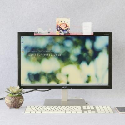 OSHI歐士 電腦螢幕留言備忘版-毛球貓 MEMO夾 禮物 辦公用品 便利貼留言板