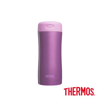 THERMOS膳魔師不鏽鋼真空保溫杯400ml(JCG-400-PL)(紫色)