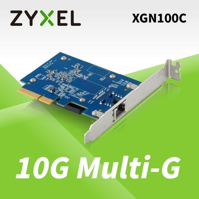 (領券現折)Zyxel 合勤 XGN100C 10Gb 單埠 高速 有線網路卡 PCI-E 3.0 QoS 擴充卡 RJ45 銅纜 五速