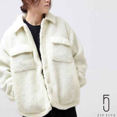 ZIP日本男裝 翻蓋口袋BOA絨毛CPO夾克 (8色)