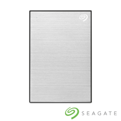 Seagate One Touch 4TB 外接硬碟 星鑽銀(STKZ4000401)