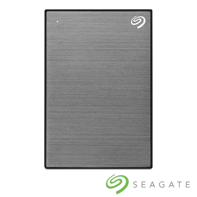 Seagate One Touch 2TB 外接硬碟 太空灰(STKY2000404)