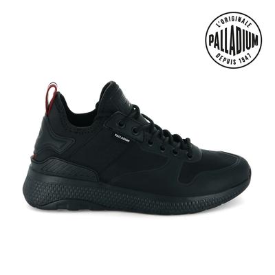 Palladium AX EON Amphibian復古慢跑鞋-女-黑