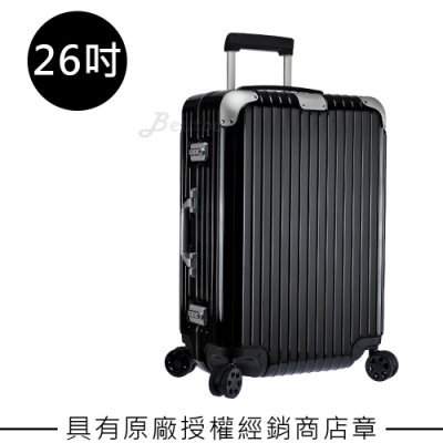 Rimowa Hybrid Check-In M 26吋行李箱 (亮黑色)