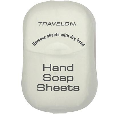 TRAVELON 洗手旅用皂紙(白)