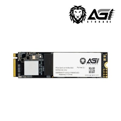 AGI亞奇雷 AI198 512GB M.2 2280 PCIe TLC固態硬碟(讀:2081M/寫:1650M)