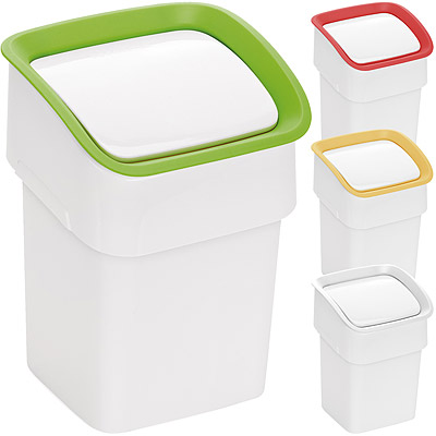 TESCOMA Clean雙掀式桌型垃圾桶(22cm)
