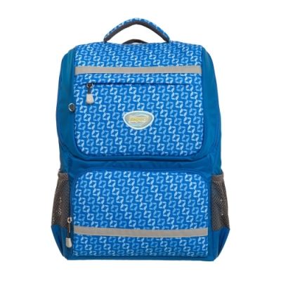【IMPACT】怡寶輕量護脊書包- 炫彩菱紋系列-藍色 IM00368RB
