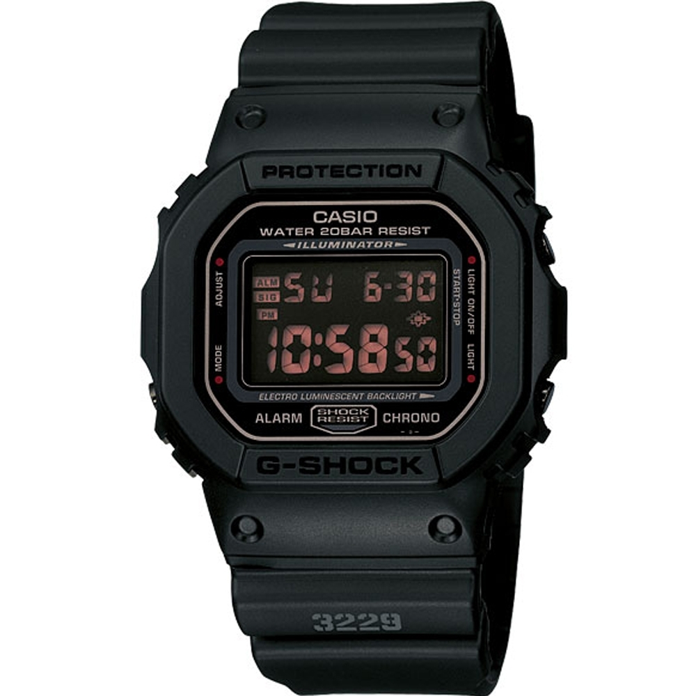 G-SHOCK 重裝上陣運動錶 (DW-5600MS-1)