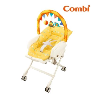 回饋5%超贈點【Combi】Letto手動安撫餐椅搖床Joy