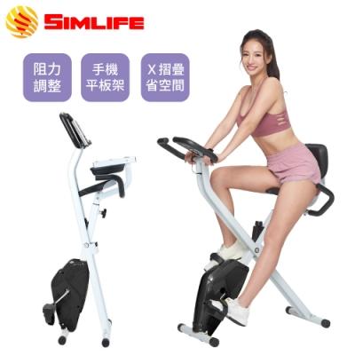 Simlife—X戰神活力有氧強勢雕塑健身車-黑