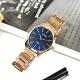 CITIZEN 簡約時尚 日本機芯 不鏽鋼手錶 (BH5003-51L)-藍x鍍玫瑰金/42mm product thumbnail 1