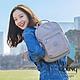 Kipling 沉穩迷霧灰機能手提後背包-SEOUL S product thumbnail 1