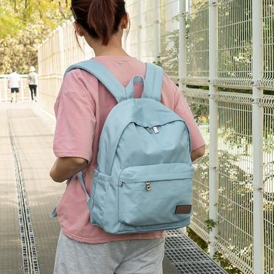 J II 後背包-經典水洗後背包-淺藍色-6388-16