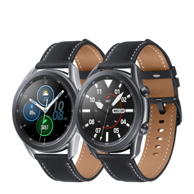 三星SAMSUNG Galaxy watch 3 R840 45mm智慧手錶 藍芽版