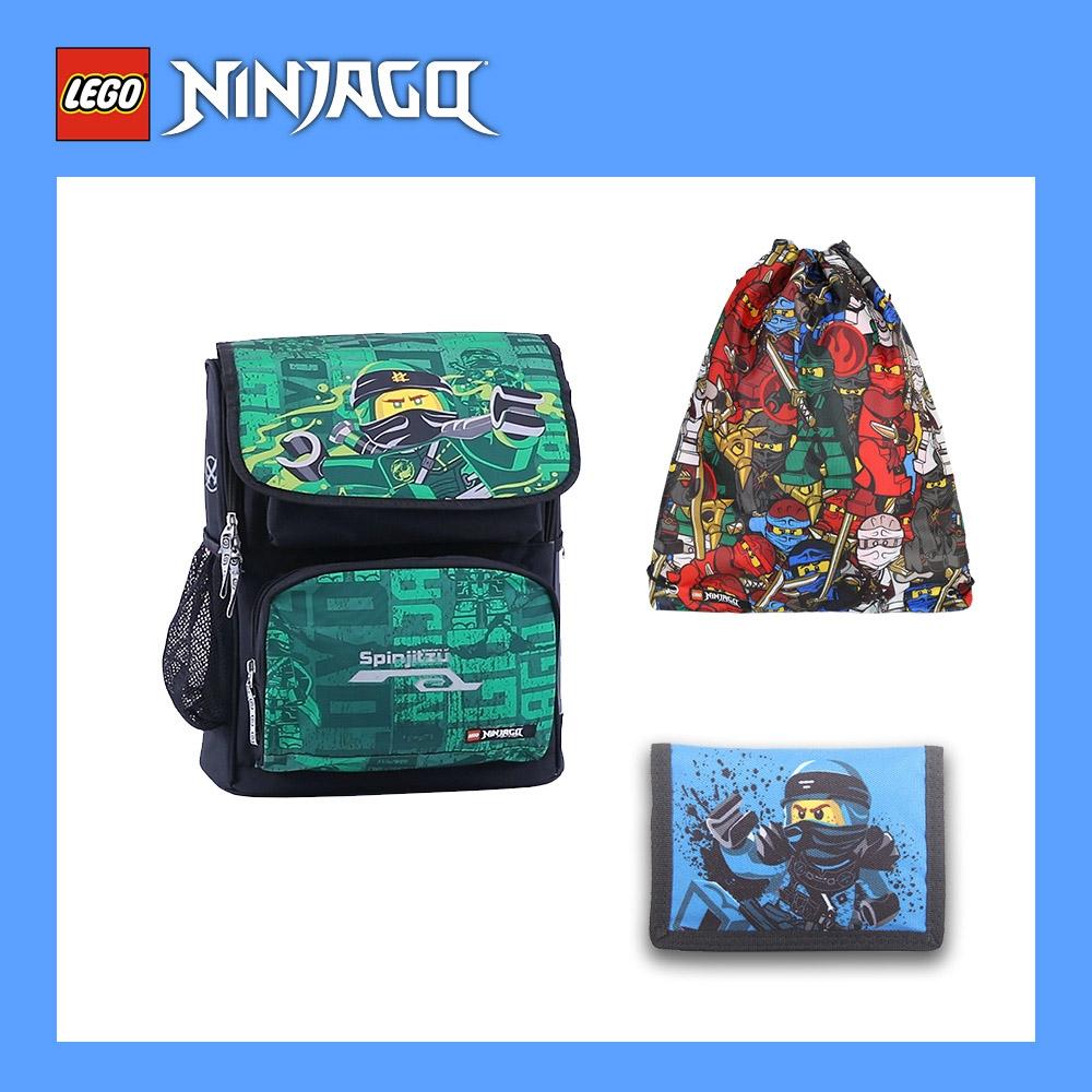 LEGO丹麥樂高書包Recruiter-綠忍者 20069-1908