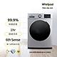 Whirlpool惠而浦 10公斤洗脫烘滾筒洗衣機 WEHC10BBS product thumbnail 1