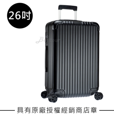 Rimowa Essential Check-In M 26吋行李箱(霧黑色)