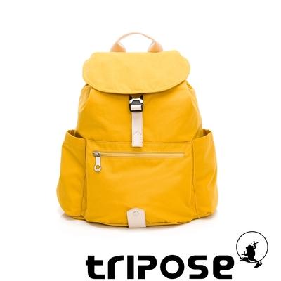 tripose MEMENTO微皺尼龍輕量後背包-大(活力黃)