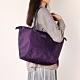 法國時尚Lipault 肩背手提兩用托特包-M(羅蘭紫) product thumbnail 1