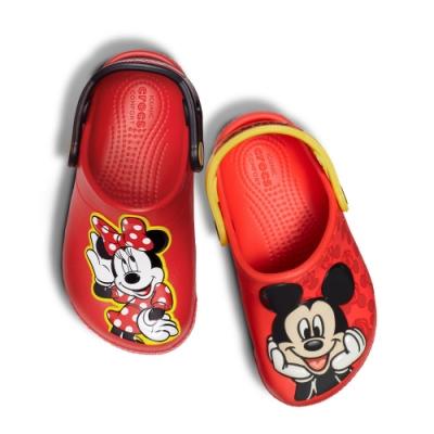 【時時樂限定】Crocs卡駱馳 (童鞋) 米奇米妮小克駱格(2款任選)