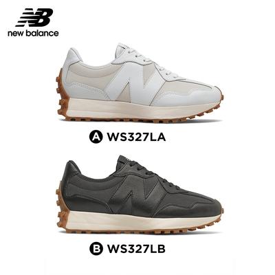 【New Balance】 復古鞋皮革款327系列_女性2款_WS327LA/WS327LB_限量販售