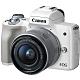 【128G雙電】Canon EOS M50 15-45mm STM 變焦組(公司貨)-白色 product thumbnail 1