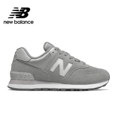 【New Balance】574 經典復古鞋_WL574FHC-B_女性_淺灰