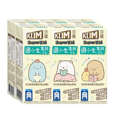 克寧超級成長國小生牛奶(198mlx24入)新舊包裝混出