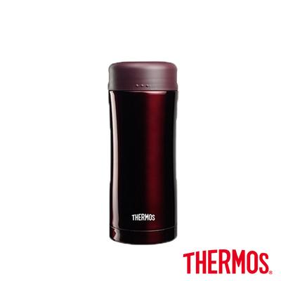 THERMOS膳魔師 不鏽鋼真空保溫杯0.4L(JCG-400-BW)