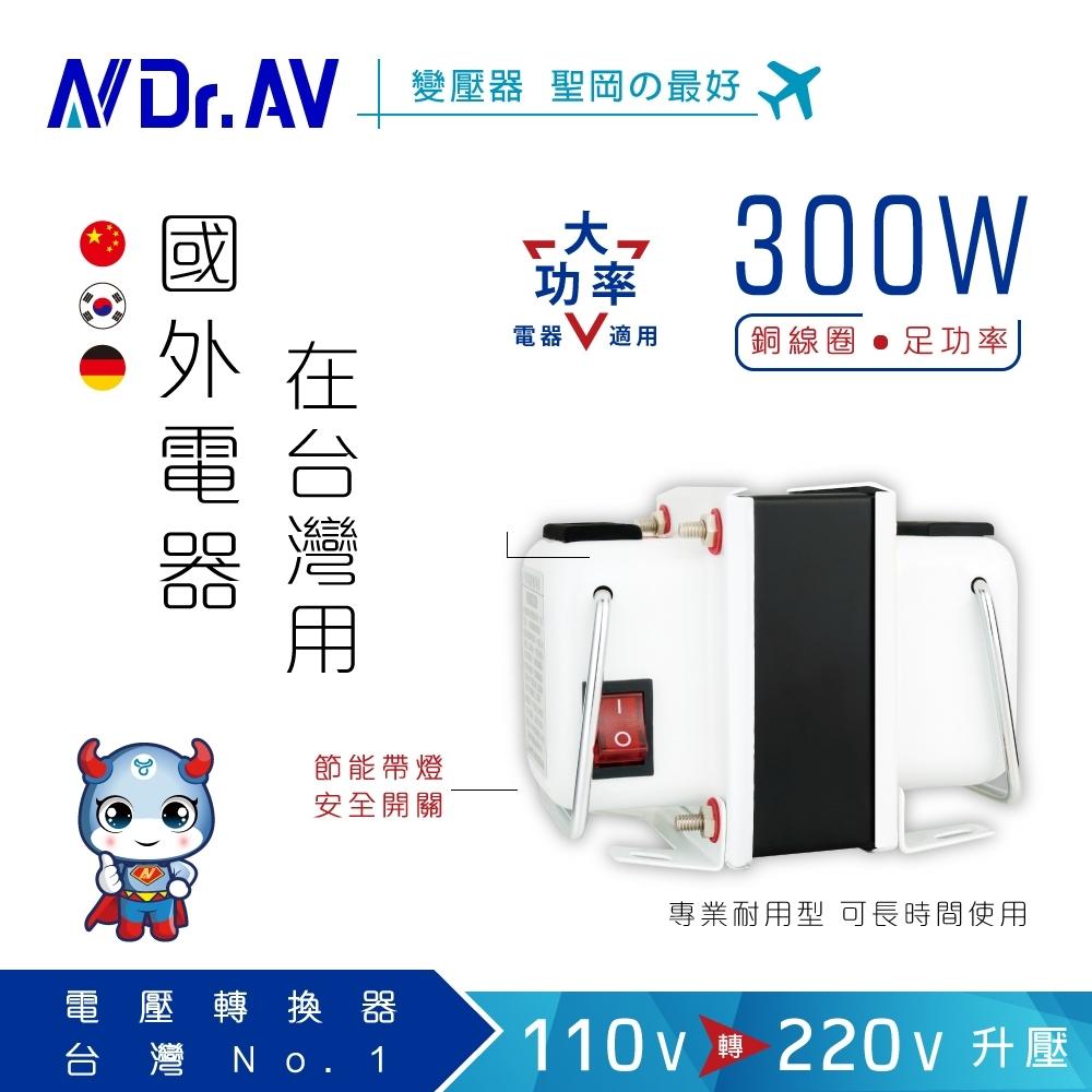 【N Dr.AV聖岡科技】GTC-300 專業型升降電壓調整器