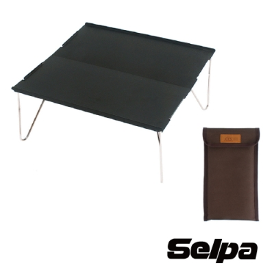 韓國SELPA  超輕量鋁合金迷你拼接桌 鋁合金桌 露營桌 機車露營 單人桌