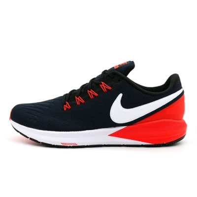 NIKE AIR ZOOM STRUCTURE 22 男 運動鞋 藍紅-CW3172411