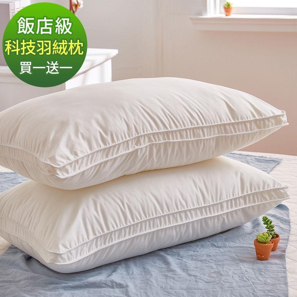 (買一送一)DUYAN竹漾-可水洗記憶科技羽絨枕 台灣製