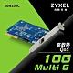 Zyxel 合勤 XGN100C 10Gb 單埠 高速 有線網路卡 PCI-E 3.0 QoS 擴充卡 RJ45 銅纜 五速 product thumbnail 1