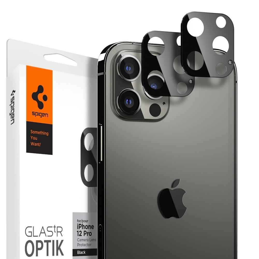 SGP / Spigen iPhone 12/ mini/ Pro/ Pro Max_Glas tR Optik 鏡頭保護貼x2入