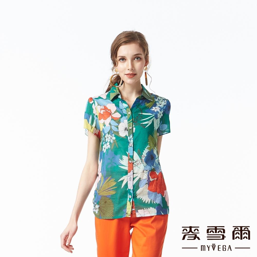 麥雪爾 夏威夷風印花襯衫