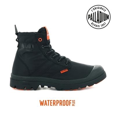 PALLADIUM PAMPA LITE+ VAPOR WP+輕量防水靴-中性-黑