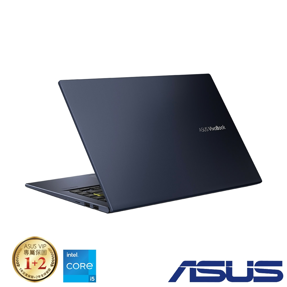 ASUS X413EA 14吋筆電 (i5-1135G7/8G/512GB SSD/VivoBook 14/酷玩黑)