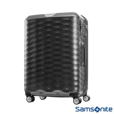 Samsonite新秀麗 28吋Polygon 極致奢華PC煞車雙輪TSA行李箱(深灰)