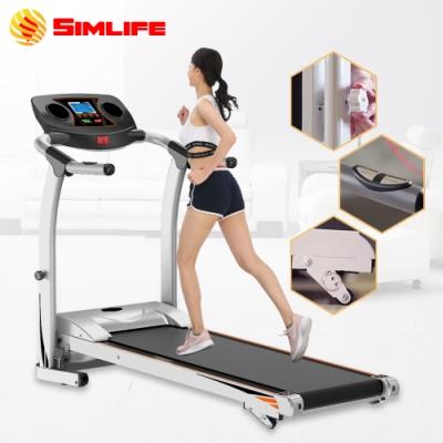【Simlife】高規升級心跳電動跑步機-星空銀
