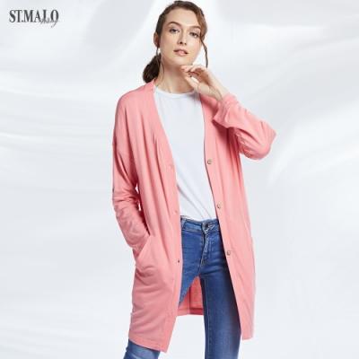 【ST.MALO】高透氧輕盈莫代爾防蚊防曬女外套(共6色)