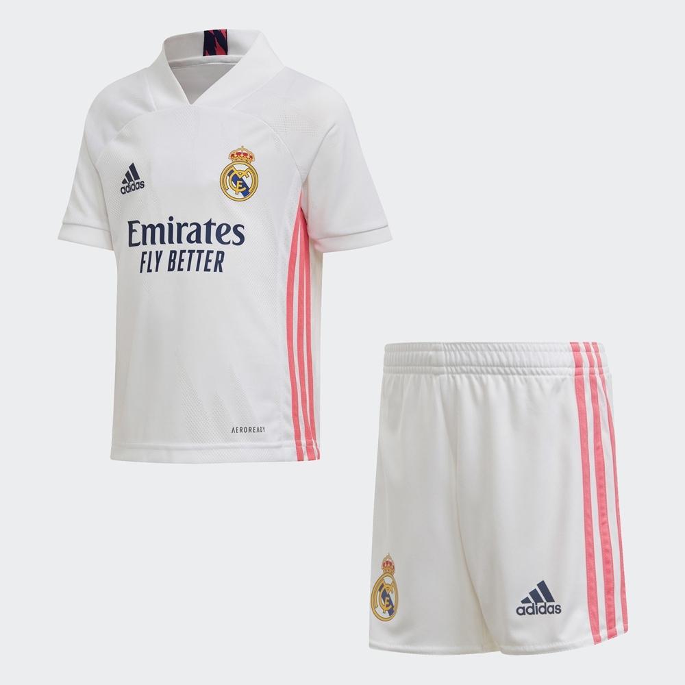 adidas REAL MADRID 20/21 運動套裝 男童/女童 FQ7487