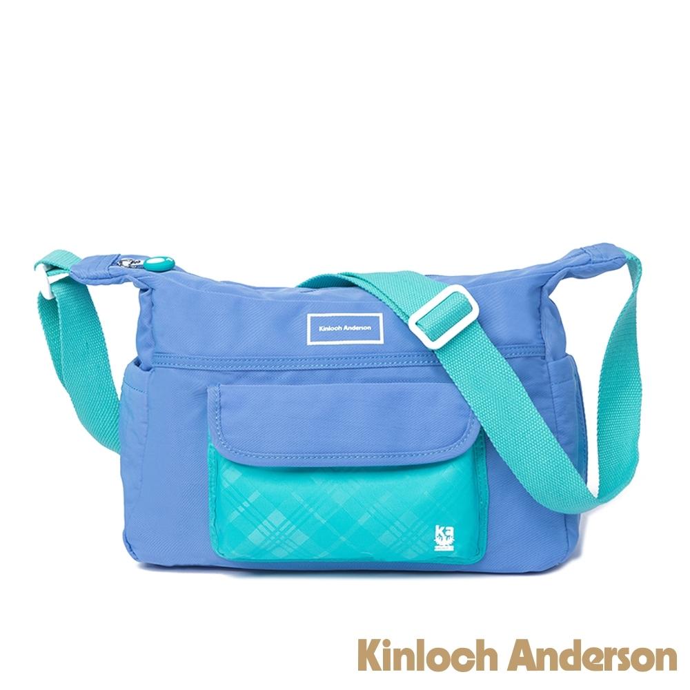 【金安德森】PLAY 造型側背包-藍色