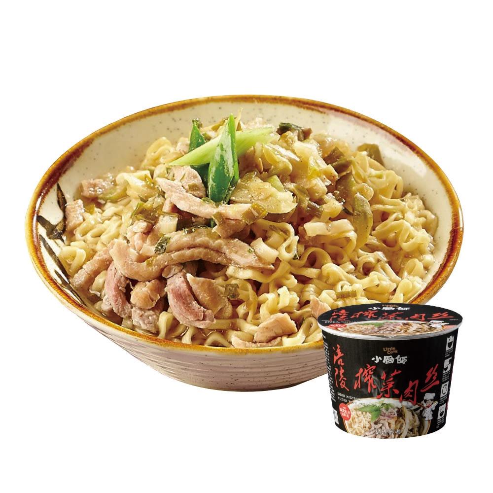 小廚師 涪陵榨菜肉絲慢食麵(194gx6桶)